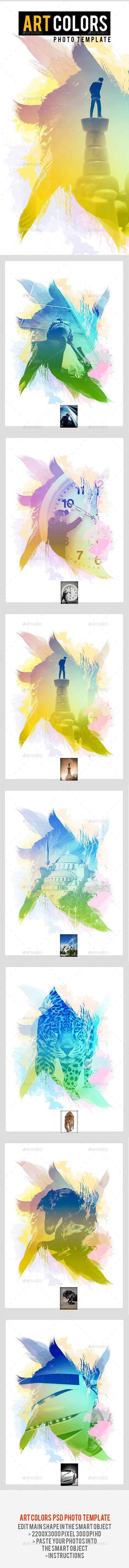GraphicRiver - Art Colors Photo Template 22612788