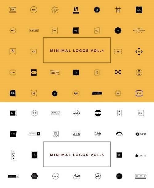 50 Minimal Logos Vol.3-4