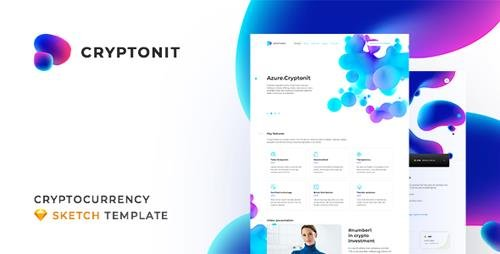 ThemeForest - Cryptonit v1.0 - Digital Currency, ICO, Cryptocurrency Blog and Magazine, Finance Sketch Template - 21499534