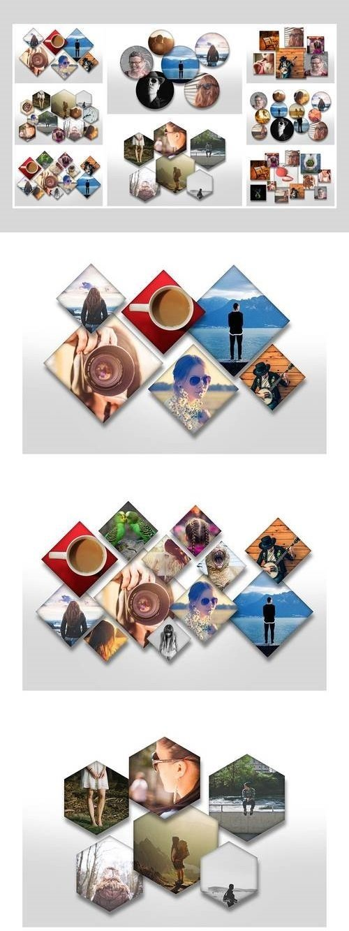 Overlapping Photo Templates