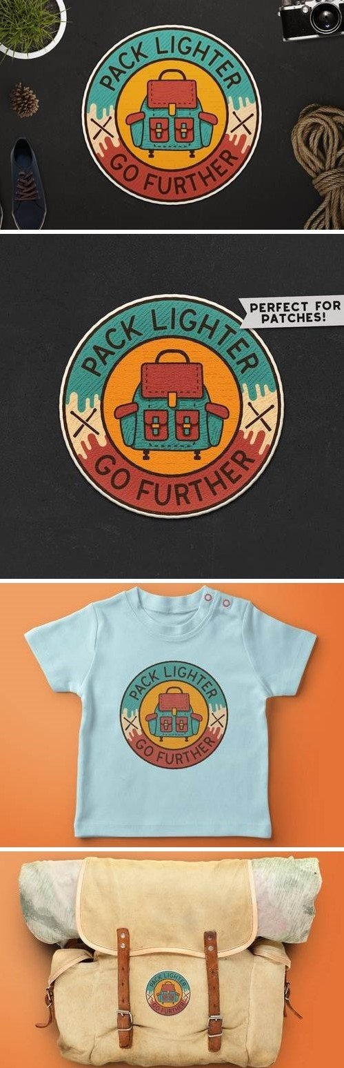 Retro Adventure Badge / Vintage Travel Logo
