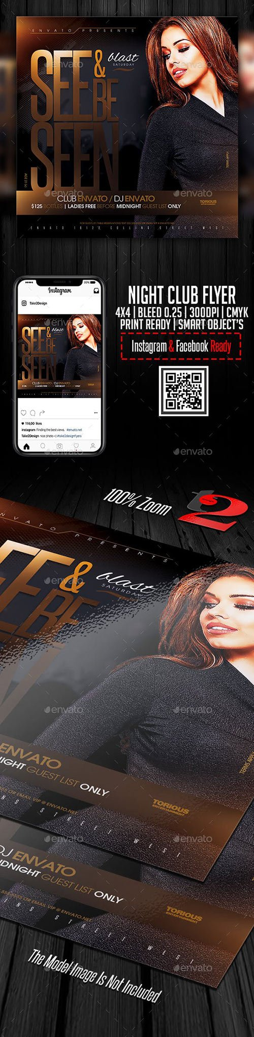 GraphicRiver - Night Club Flyer Template 22651402