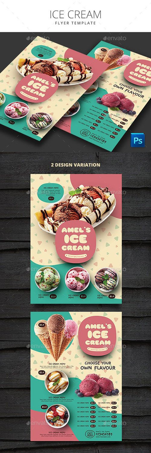 GraphicRiver - Ice Cream 22663642