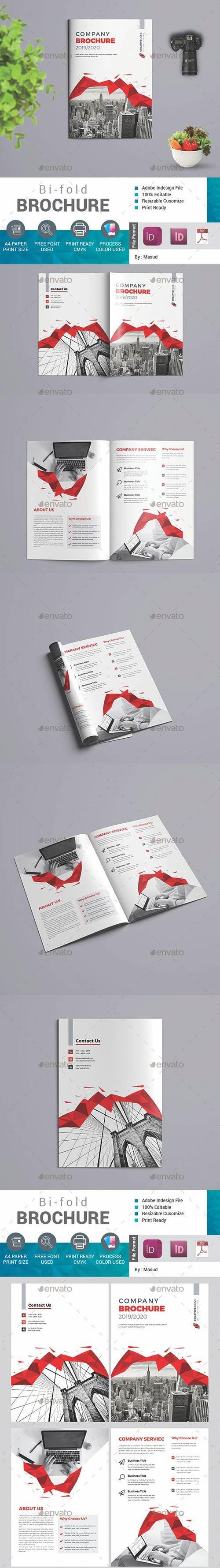 GraphicRiver - Bifold brochure 22652013