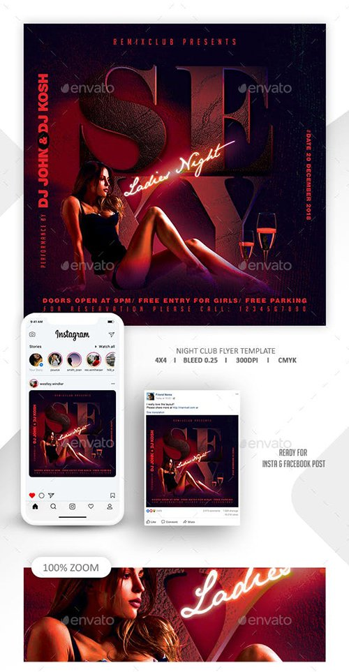 GraphicRiver - Night Club Flyer Template 22651583