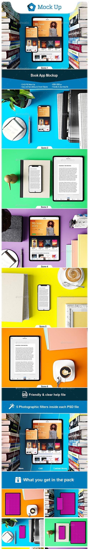 GR - Book App Mockup 23039432