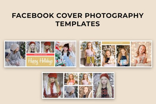 Facebook Christmas Cover Photography