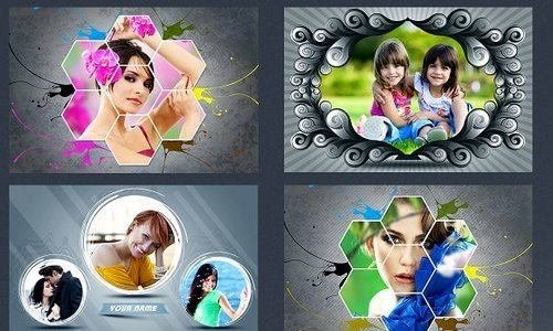 CM - Photo Frame Templates 1196160