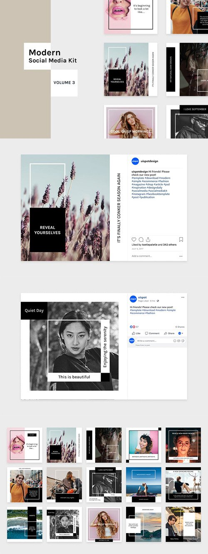 Modern Social Media Kit (Vol. 3) - DUBAN6