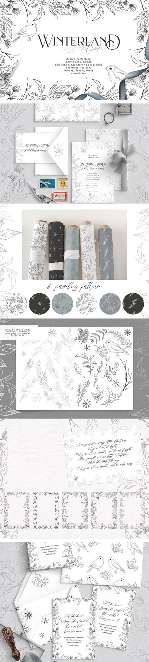 CM - Winterland PNG Collection