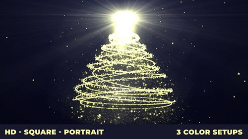Xmas Tree 23053111 - Project for After Effects (Videohive)