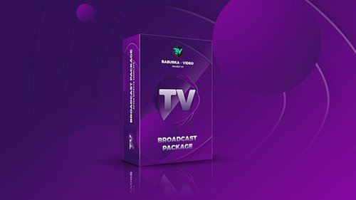 Broadcast Package // Colored TV - Project for After Effects (Videohive)