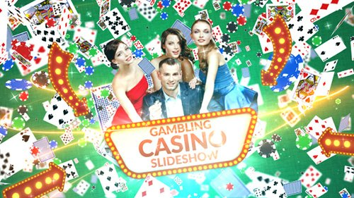 Gambling Casino Slideshow - Project for After Effects (Videohive)
