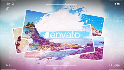Vacation Grunge Album - Project for After Effects (Videohive)
