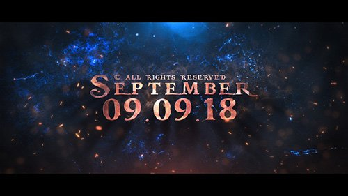 Epic Song - Teaser - Project for After Effects (Videohive)