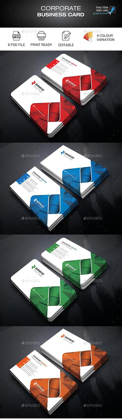 GraphicRiver - Business Card 22663342