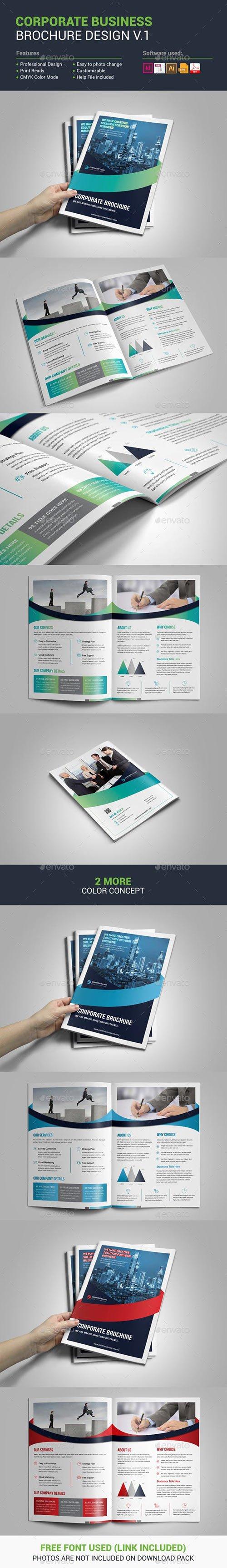 GraphicRiver - Corporate Brochure Design 22659668