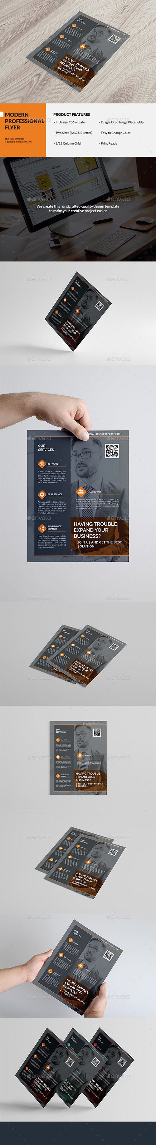 Graphicriver - Modern Professional Flyer 13858395