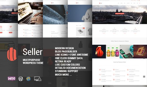 ThemeForest - Seller v1.4.3 - Responsive MultiPurpose Theme - 7273592