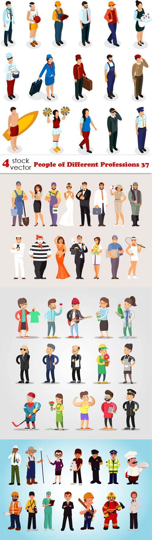 Vectors - People of Different Professions 37