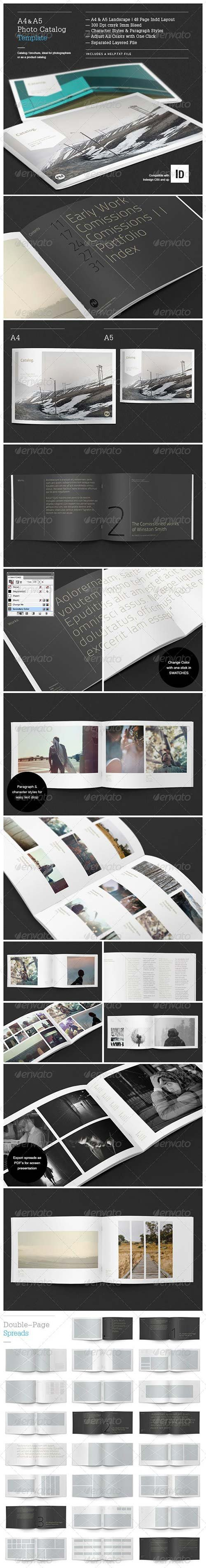 GraphicRiver - Minimal Photo Catalog Template 4143498