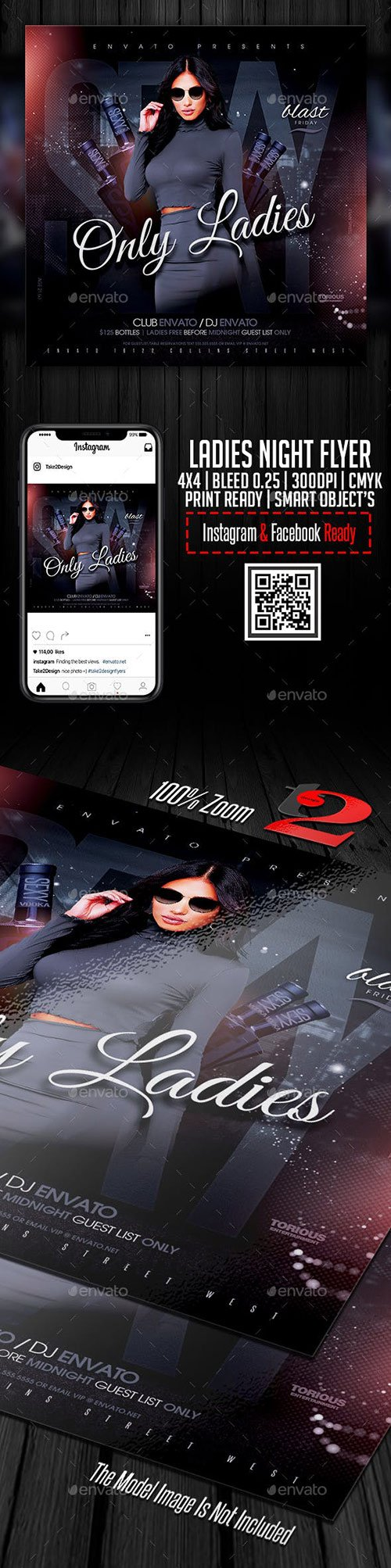 GraphicRiver - Ladies Night Flyer Template 22668761