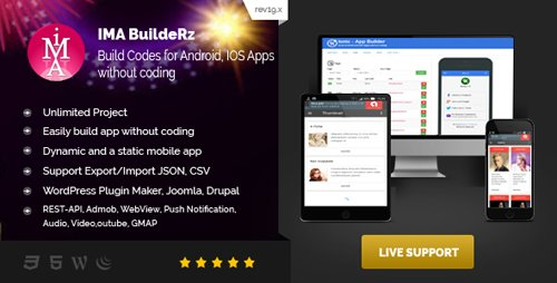 CodeCanyon - Ionic Mobile App Builder v18 12 10 - 15716727 - NULLED