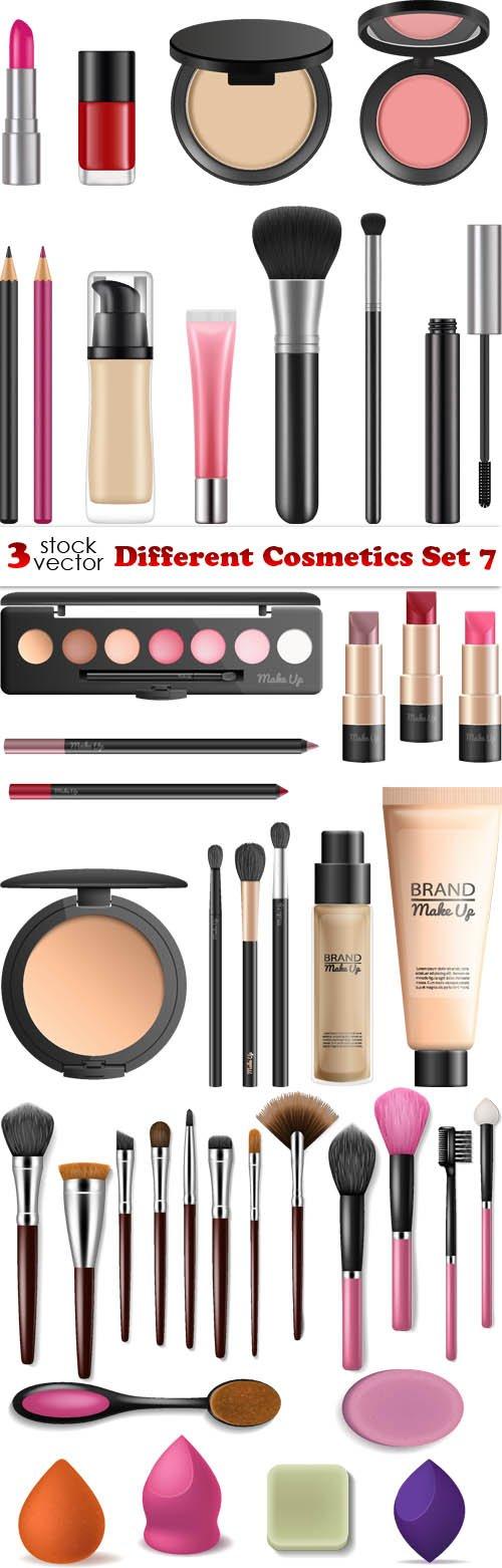 Vectors - Different Cosmetics Set 7