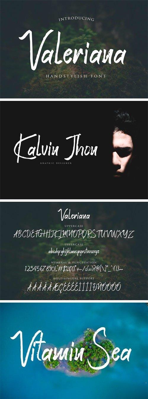 CM - Valeriana Handstylish Font 3267271