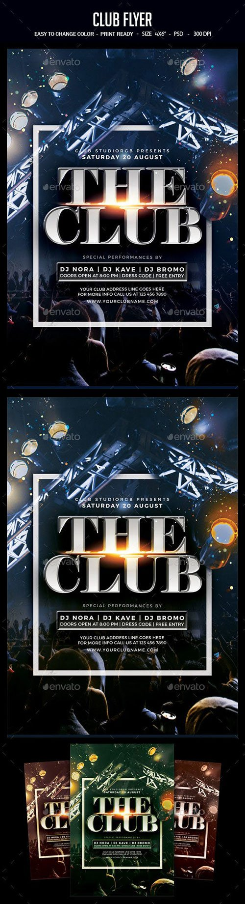 GraphicRiver - Club Flyer 22668678