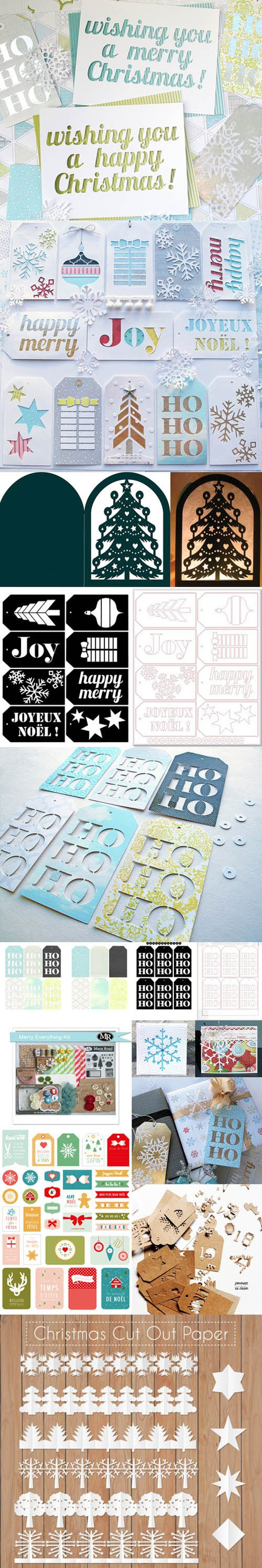 Christmas SVG Cutting Files Collection