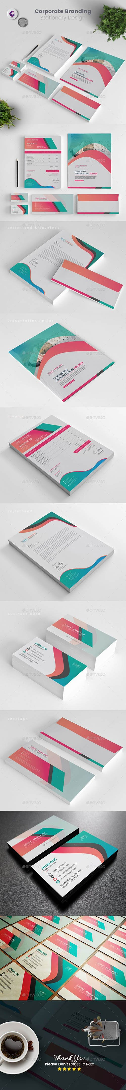 GraphicRiver - Corporate Stationery 22967783