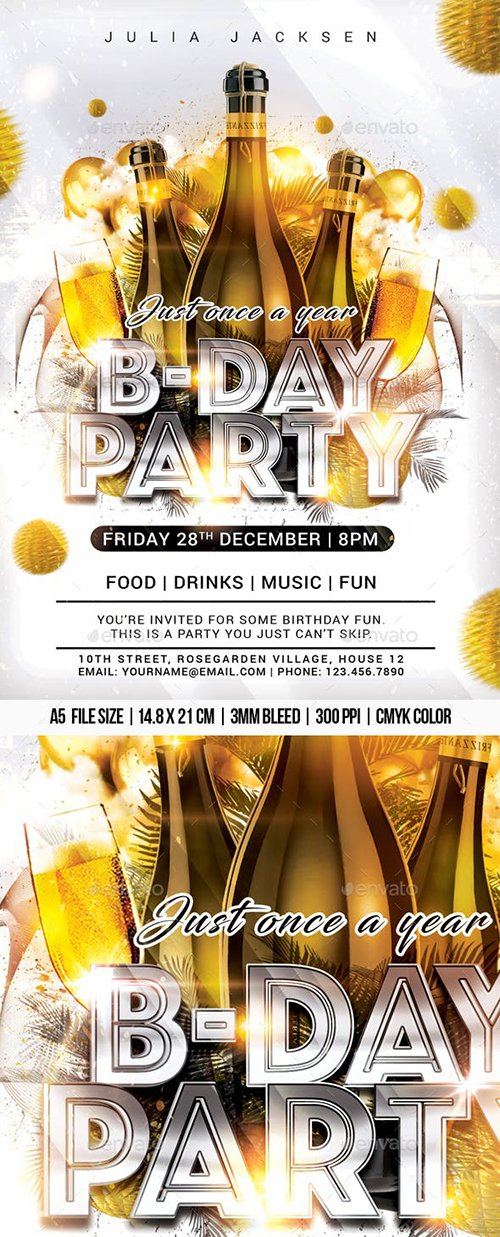 GraphicRiver - B-Day Party 22994393
