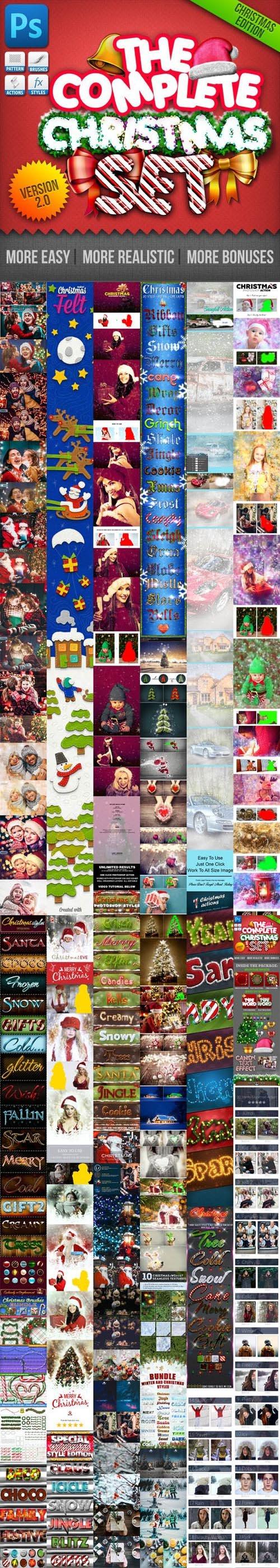 Graphicriver 2019 Big Christmas Bundle for Photoshop