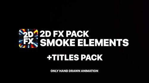 2DFX Smoke Elements And Titles 146055