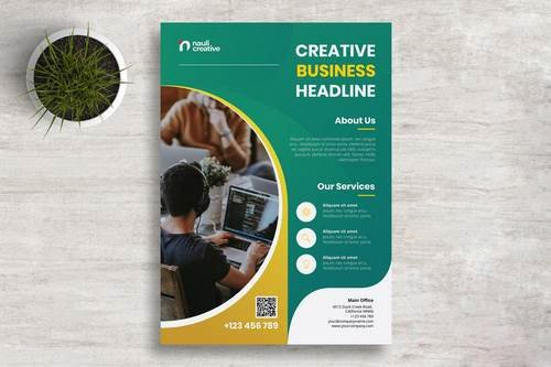 Corporate Business Flyer PSD and Vector Vol.4
