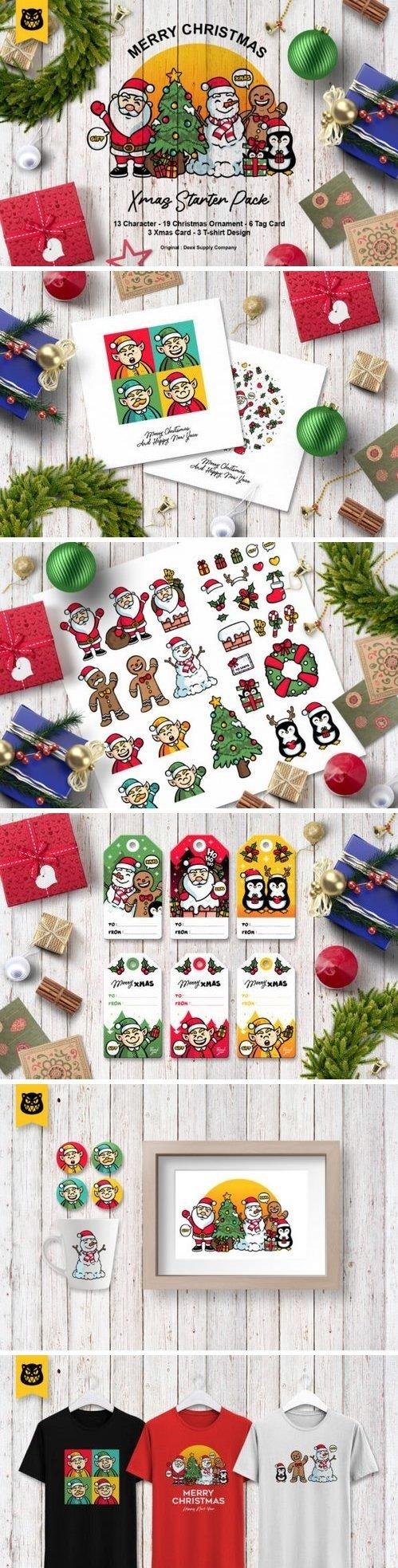 CF - Christmas Character Bundle 846260