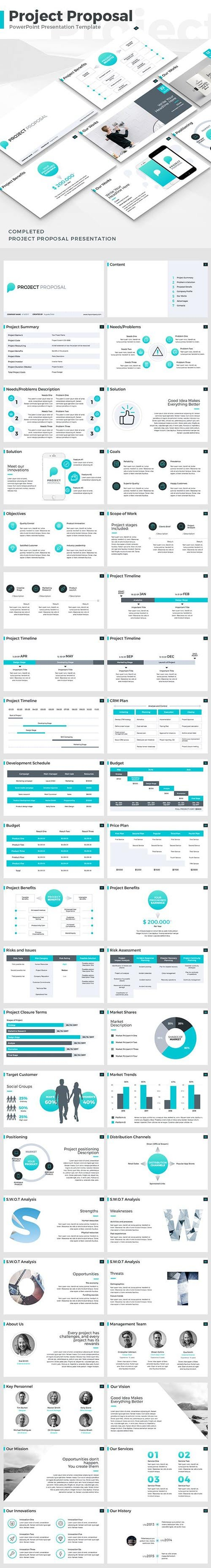 Graphicriver - Project Proposal - PowerPoint Template 19336606