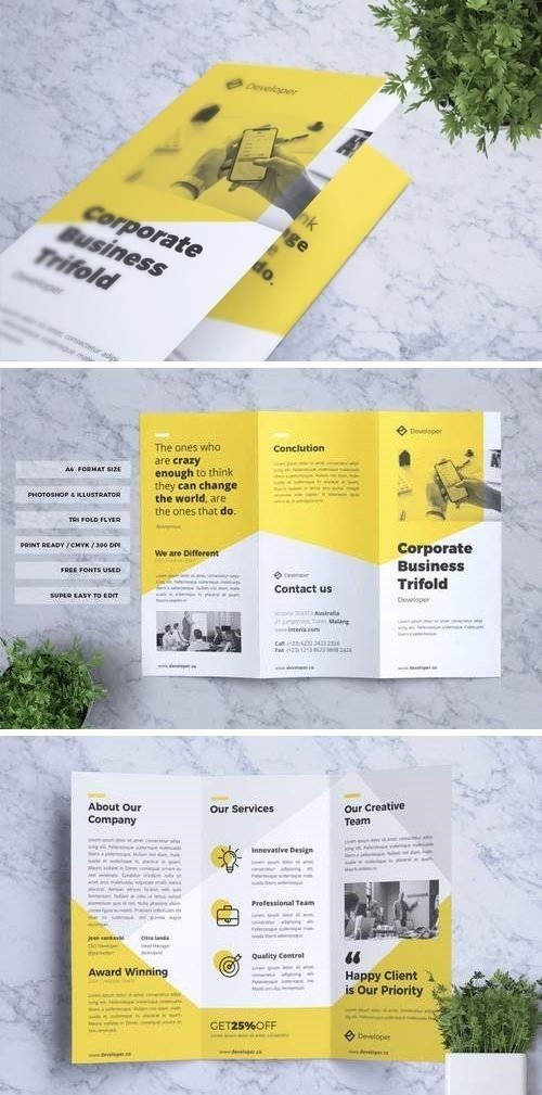 Corporate Business Flyer Vol. 16