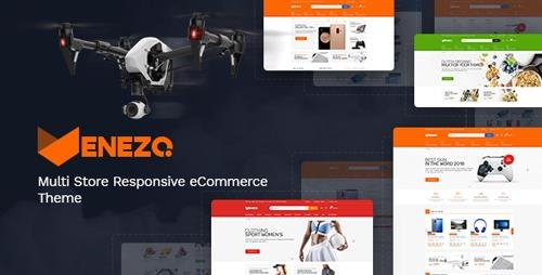 ThemeForest - Venezo v1.0 - Technology OpenCart Theme (Included Color Swatches) - 23055400