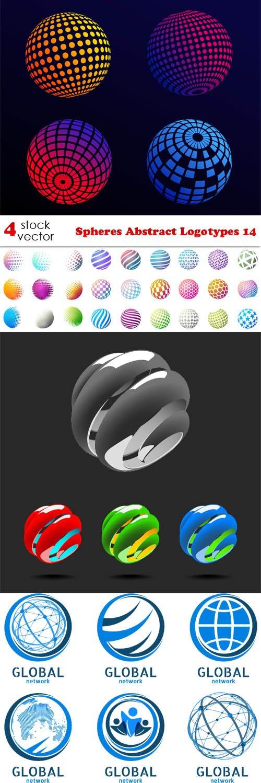 Vectors - Spheres Abstract Logotypes 14