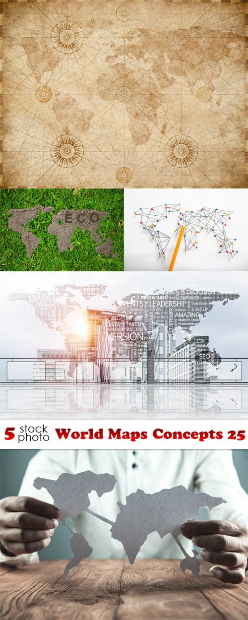 Photos - World Maps Concepts 25