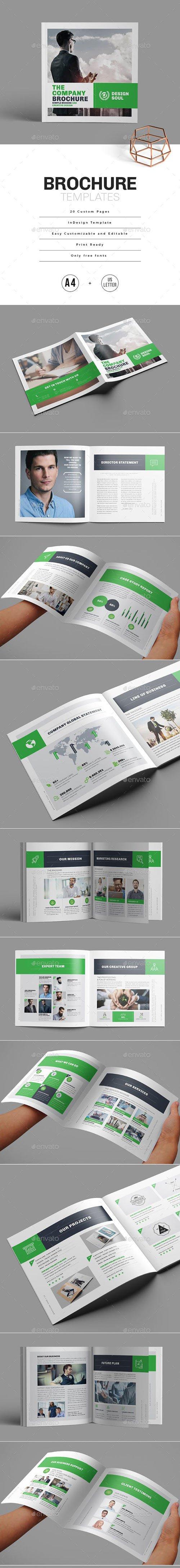 Graphicriver - Square Brochure 23039955