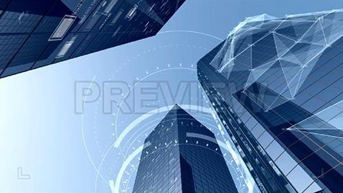 Impressive Digital City Buildings Architecture 149225