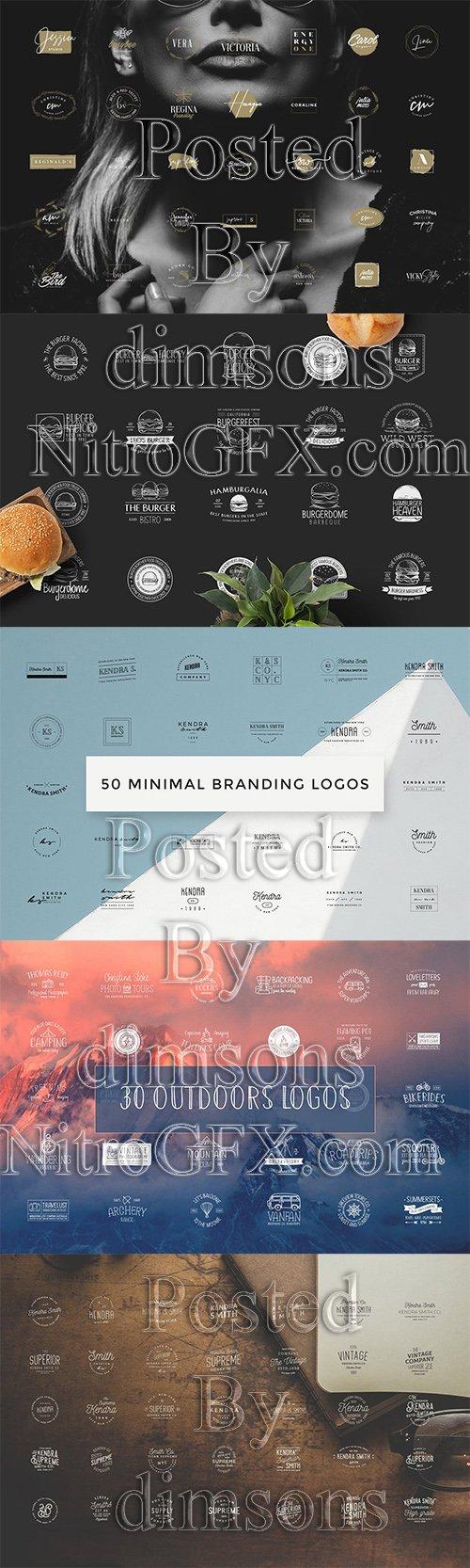 230 Different Logo Bundle
