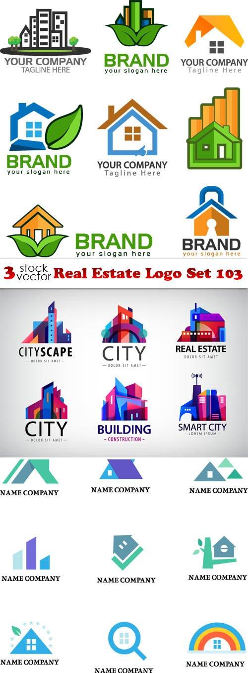 Vectors - Real Estate Logo Set 103