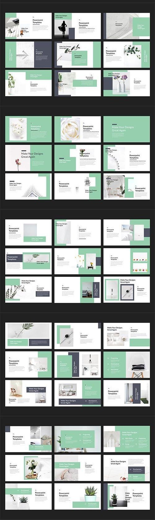 CreativeMarket - Thita Lookbook Powerpoint Templates 2982524