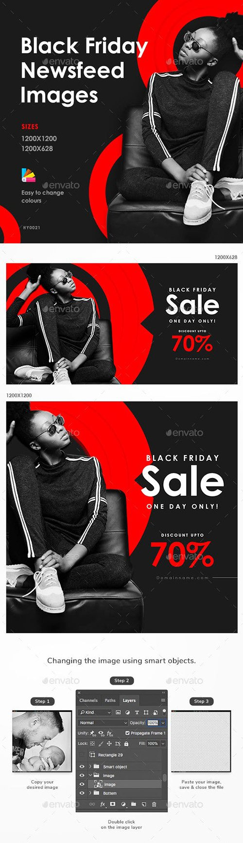 GraphicRiver - Black Friday Sale Social Media Banner Set 22681544