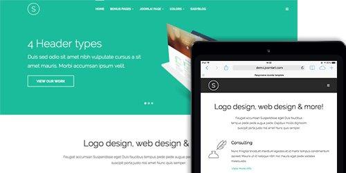 JoomlArt - JA Sugite v2.0.1 - Responsive Joomla Template For Designer Portfolio