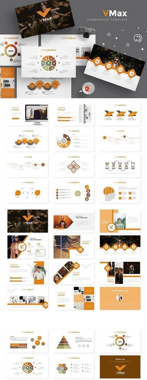 Vmax - Powerpoint, Keynote, Google Sliders Templates